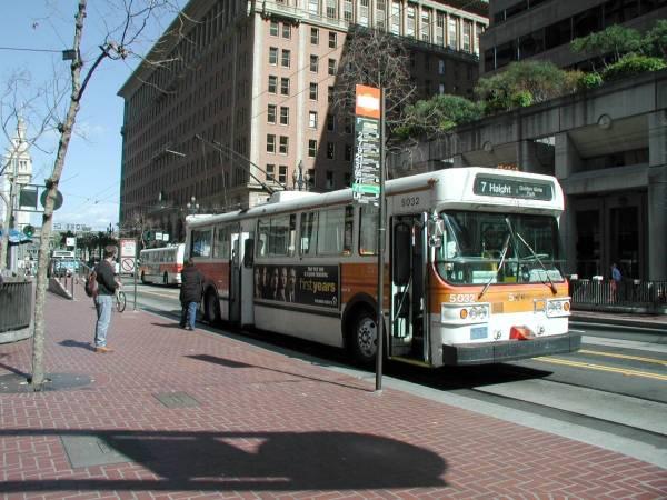 Muni Trolleys San Francisco San Francisco Transit Muni